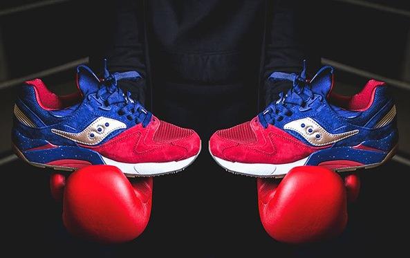 Sepatu Terbaru Saucony grig 9000 boxing