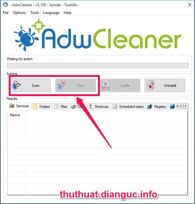 Download AdwCleaner 5.109 – Phần mềm xoá quảng cáo mạnh mẽ mới nhất 2016