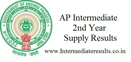 AP Intermediate 2nd Year Supply Results