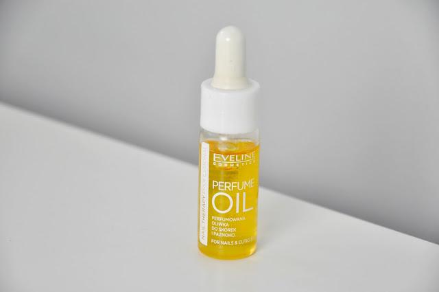 oliwka do skórek i paznokci eveline perfume oil