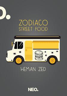 Zodiaco street food Heman Zed
