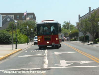Trolley in Cape May New Jersey