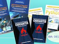 Rekomendasi Buku Pemrograman Python, Web, CodeIgniter, HTML dan CSS, Android