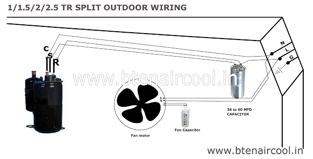 Outdoor wiring diagram ~ BTEN AIRCOOL
