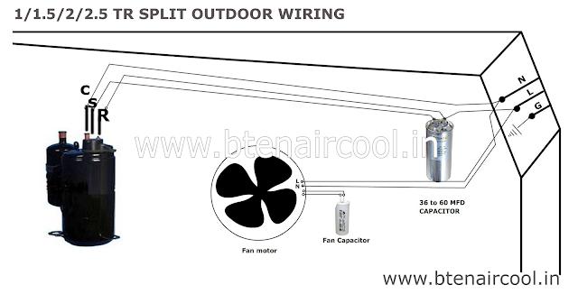 outdoor condenser wiring diagram