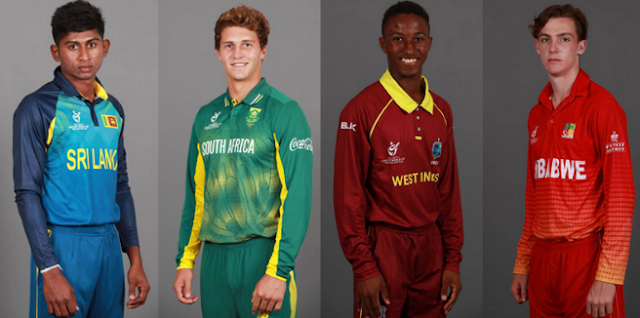ICC U19 WC 2018 Teams