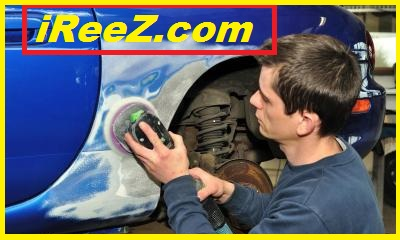 Accident car repair and resale project
