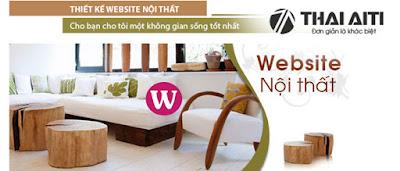 Thiết kế Web nội thất xây dựng