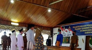 Bupati Batanghari Fadhiel Arief Kembali Melantik Ratusan Pejabat