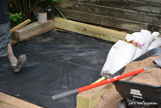 leveling, underlayment