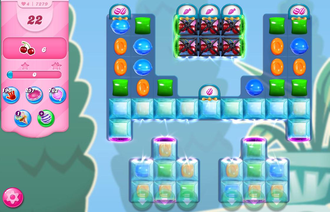 Candy Crush Saga level 7279