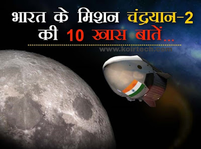 10 Facts About Mission Chandrayan-2 www.koirtech.com