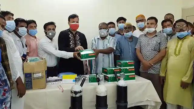 নন্দীগ্রামে হাসপাতালে চিকিৎসা সরঞ্জামাদি দিলেন মোশারফ এমপি
