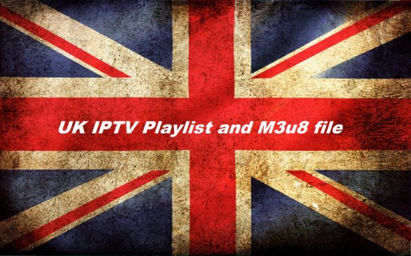 English England UK iptv links and m3u file