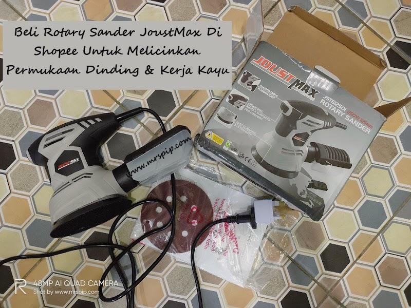Beli Rotary Sander JoustMax di Shopee Dengan Harga Affordable