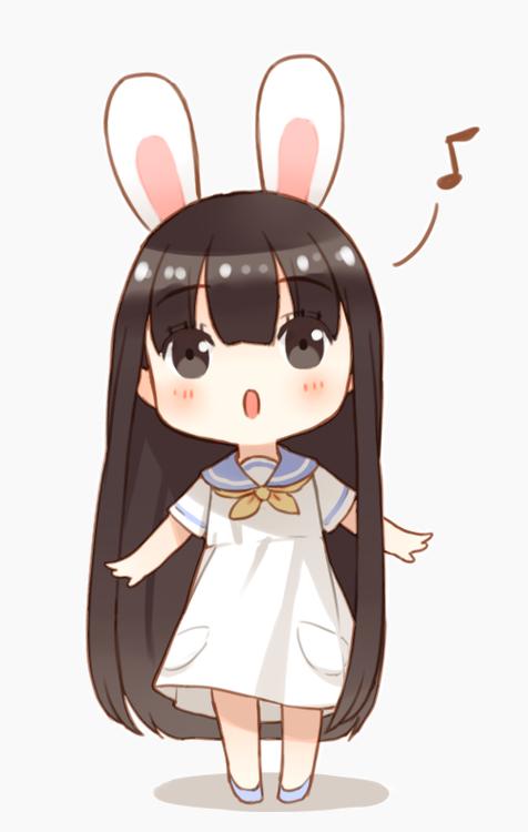 Nữ Sinh Thỏ Trắng