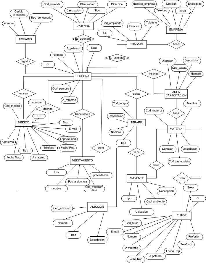 Sistema De Rehabilitacin De Indigentes Ii Analisis