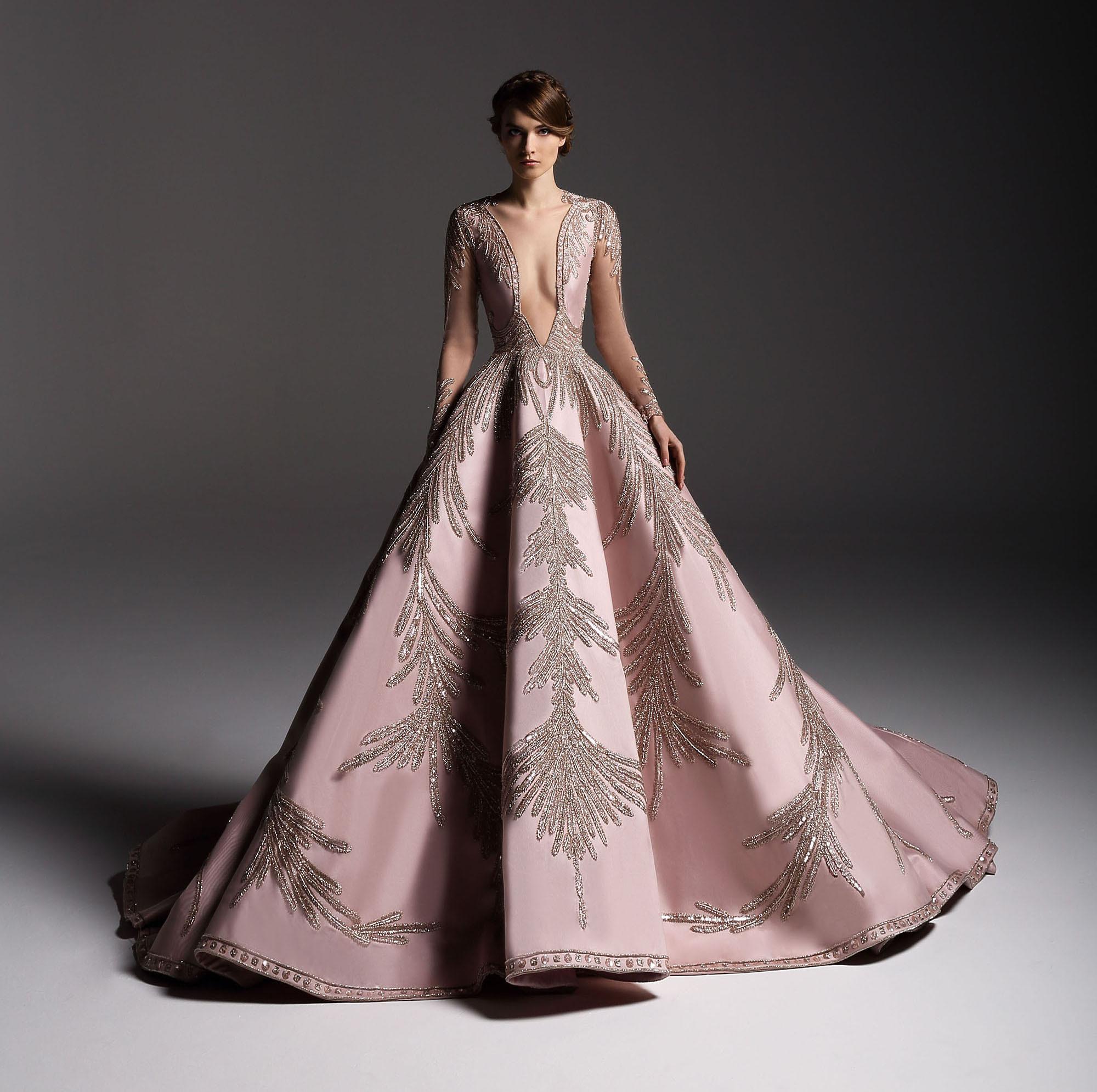 Gown Elegance: Marwan and Khaled