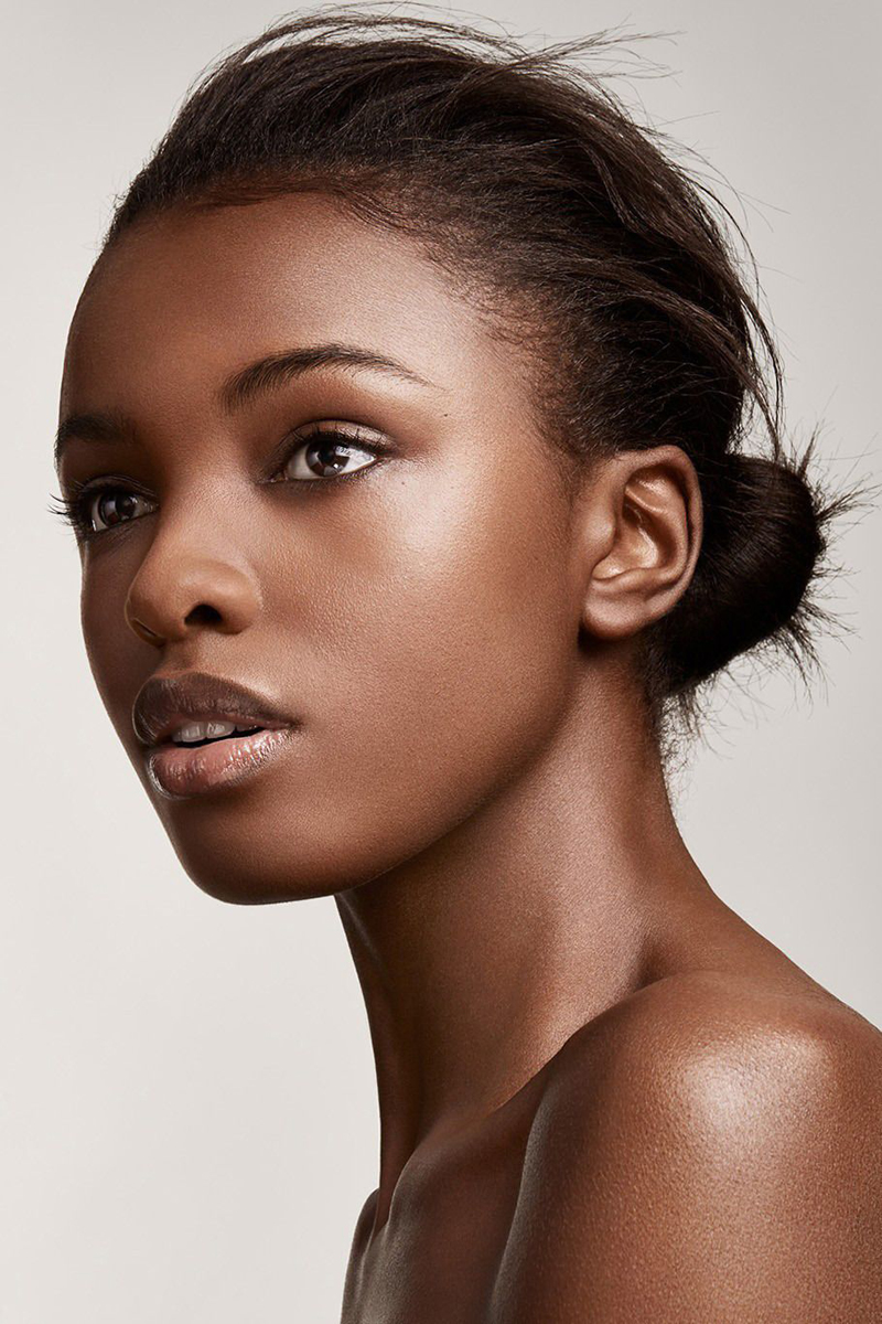 How to Turn Dark Brown Skin Into a Lighter Brown Tone