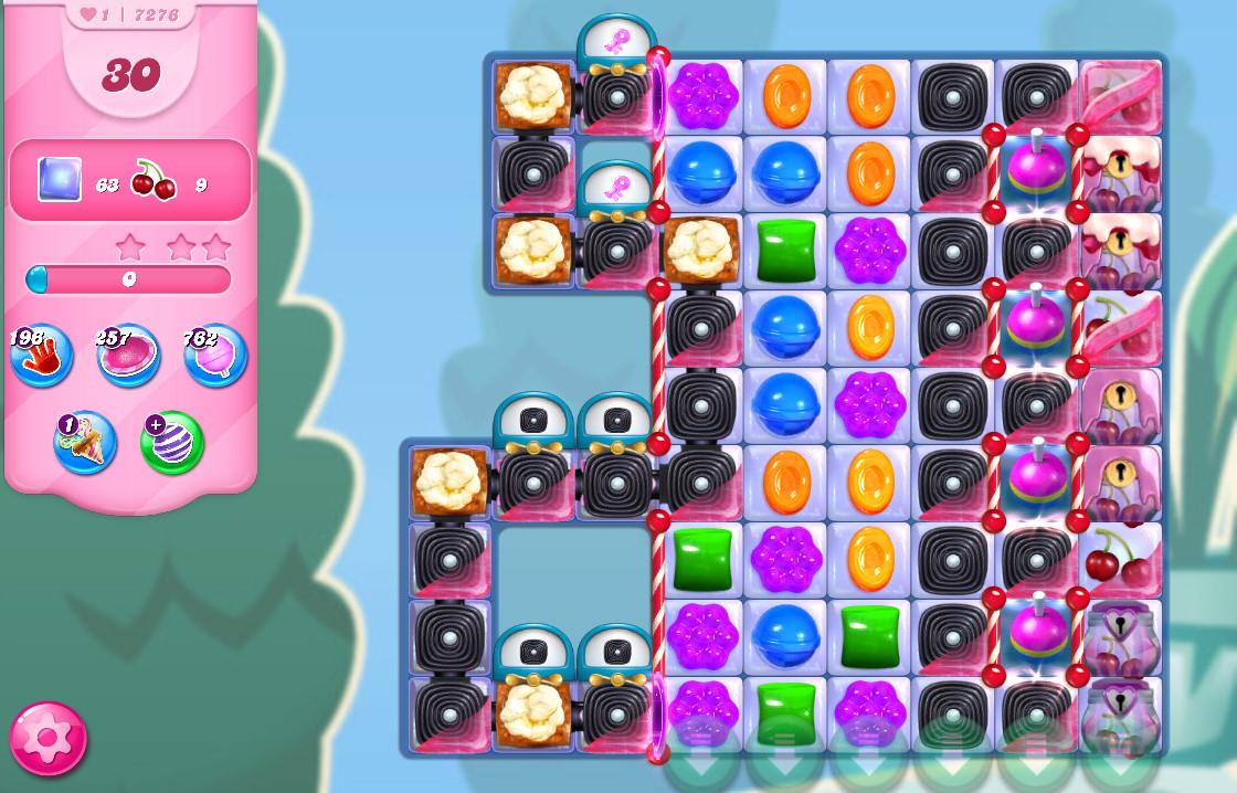 Candy Crush Saga level 7276