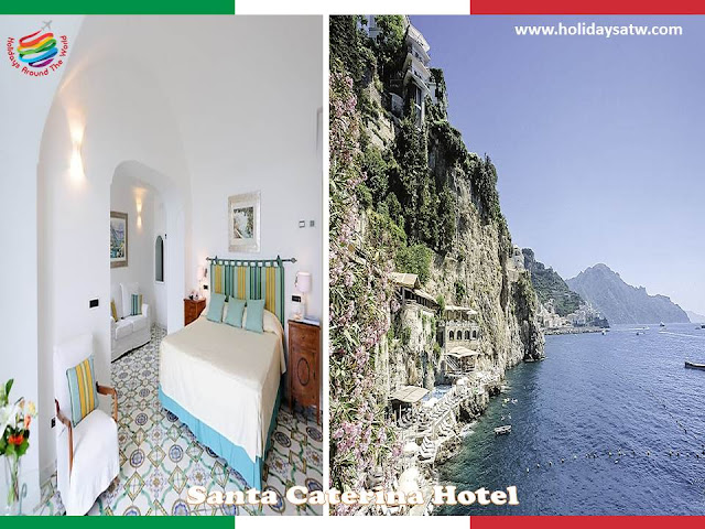 Recommended luxury hotels in Amalfi Coast, Italy