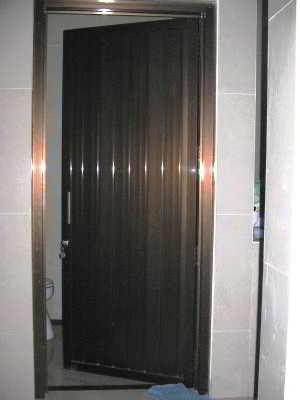 Desain Pintu Kamar Mandi Minimalis Aluminium