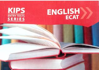 KIPS ECAT English book pdf Download