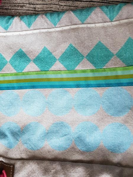 Packs ein- Adventskalendertasche von farbenmix aus Geometric- Canvas