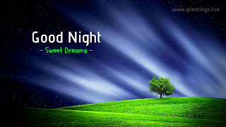good night tree mountains wishes whatsapp status pictures