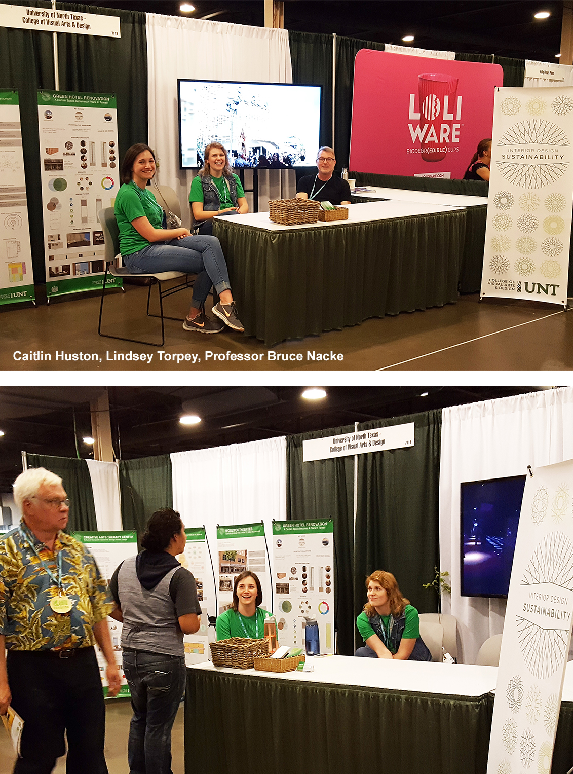 UNT Interior Design Program Participated In Earth Day Texas 2016 At Fair Park Dallas From April 22nd To 24th The Showcased Grad Track Students