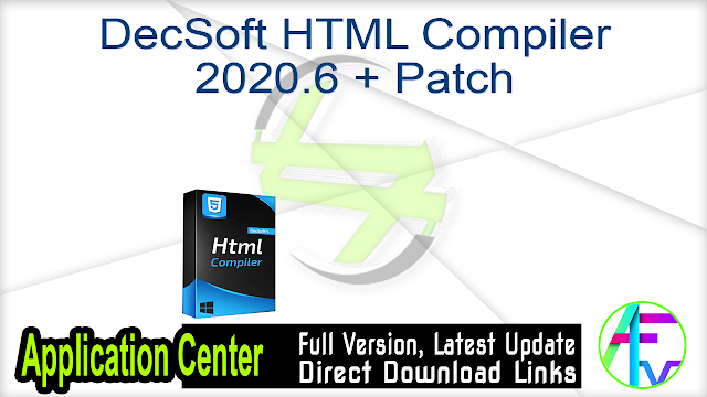 DecSoft HTML Compiler 2020.6 + Patch
