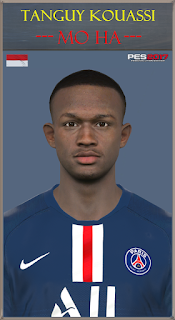 PES 2017 Faces Tanguy Kouassi by Mo Ha