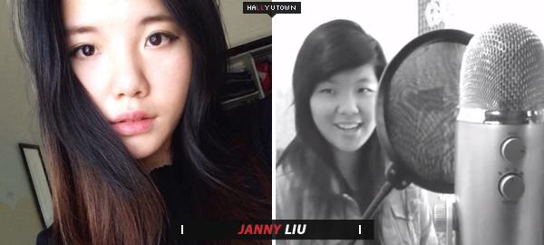 Janny é uma chinesa-Americana e possui uma conta do YouTube com uma  variedade de covers K-pop em inglês. No momento b05fceb0216