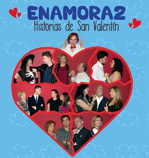 Diumenge 12 de febrer a les 18 h. Enamora2. Historias de San Valentín. Grup Amor-Discos