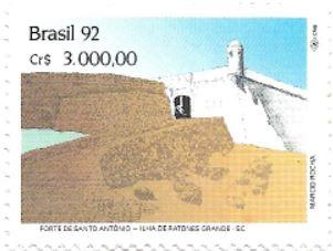 Selo Forte de Santo Antônio, na Ilha de Ratones Grande
