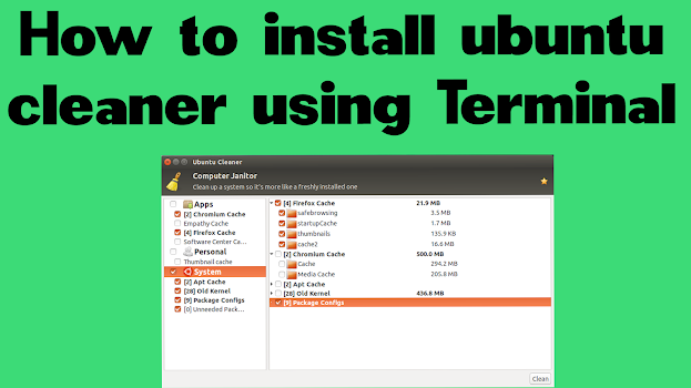 How-to-install-ubuntu-cleaner-using-Terminal