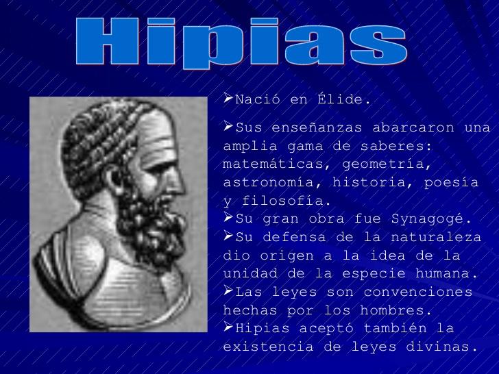 APASIONADOS DEL IMPERIO ROMANO: HIPIAS DE ÉLIDE