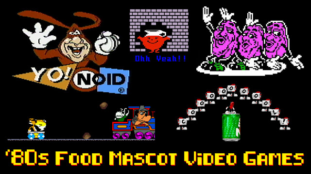 '80s Food Advertising Mascots That Received Their Own Video Games