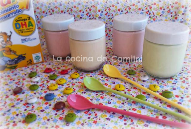 Yogur de lacasitos (La cocina de Camilni)