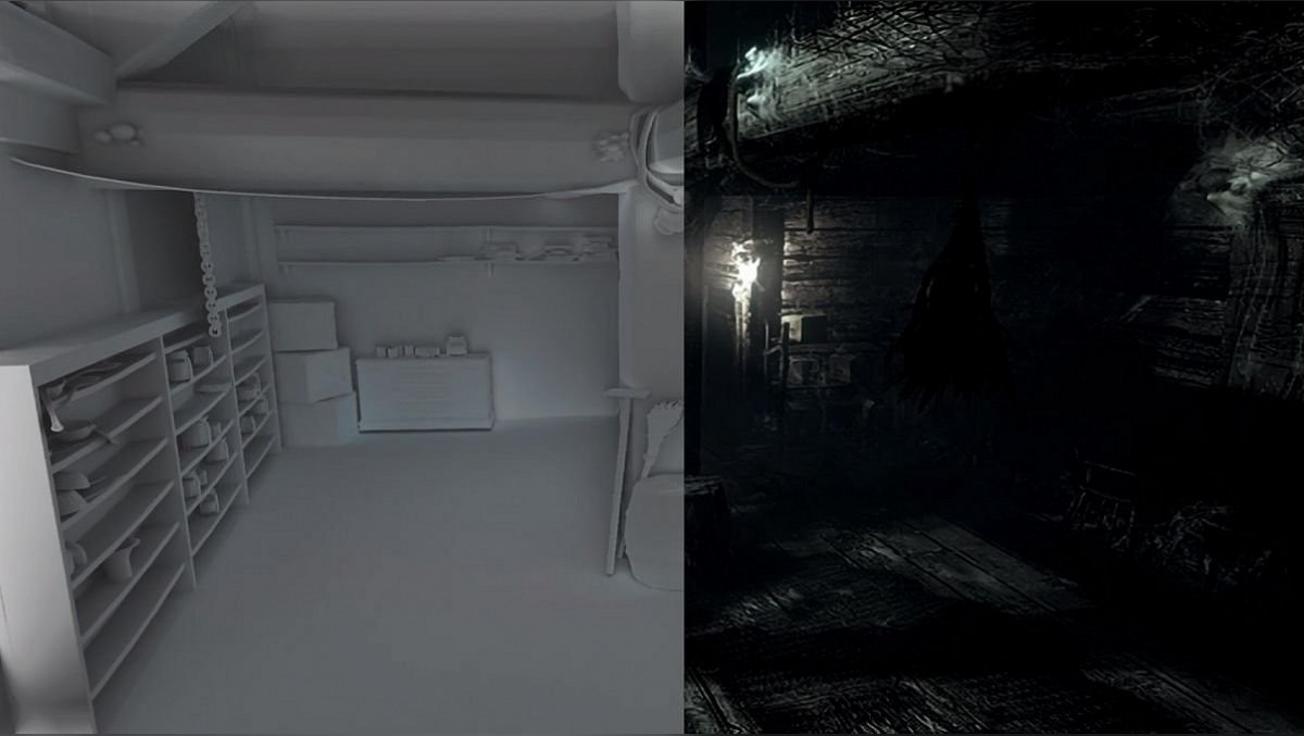 Resident Evil Remastered graphic comparison