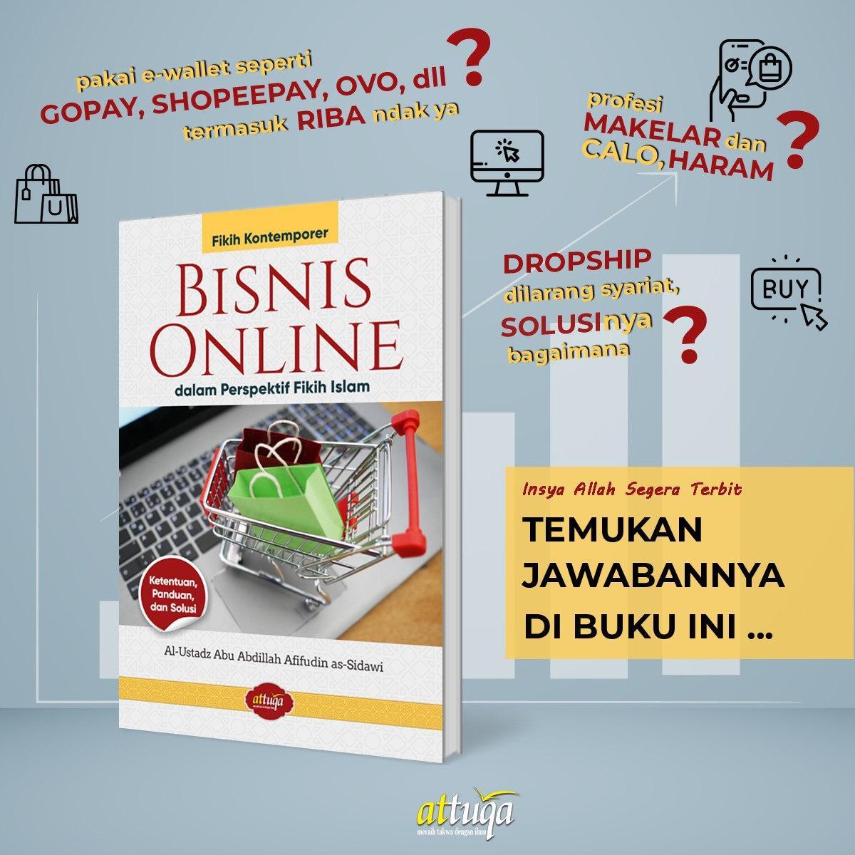 Buku Bisnis Online dalam Perspektif Fikih Islam Attuqa