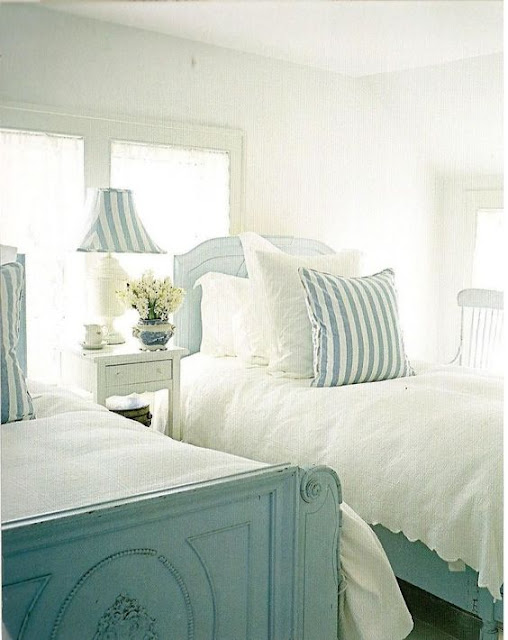 beach cottage interiors: bedroom | Cool Chic Style Fashion