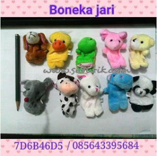 Mainan Anak Boneka Jari Hewan