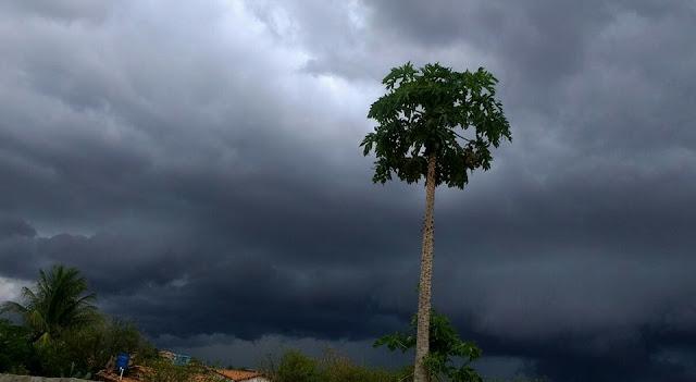 Previsão do Tempo aponta chuvas em Malhada de Pedras e região circunvizinhas nesta semana