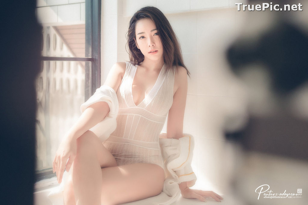 Image Thailand Model - Soraya Suttawas - Monikini Bath Light - TruePic.net - Picture-2