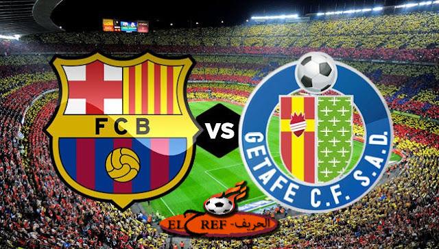 مباراة برشلونة وخیتافي الیوم بتاریخ 17-10-2020 في الدوري الاسباني