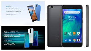 Harga HP Xiaomi Terbaru bulan Februari 2020