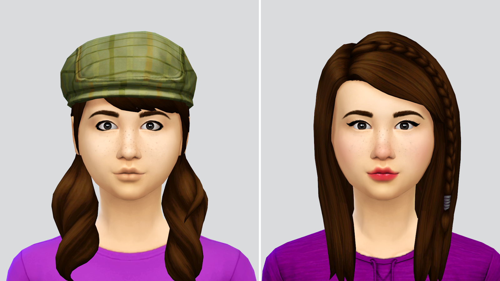 Missy's Sims and Stuff: The Sims 4 ~ Base Game Townie Makeovers +