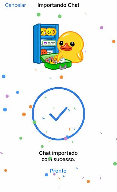 telegram exportar conversas
