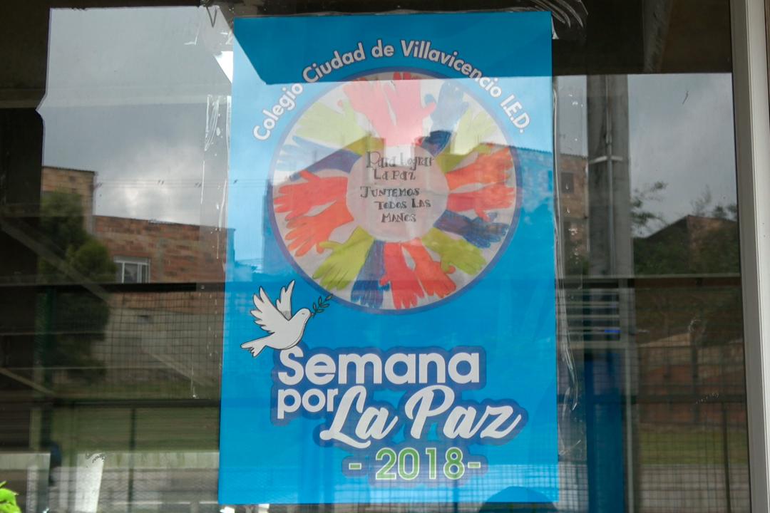 Semana por la paz en el Colegio Ciudad de Villavicencio